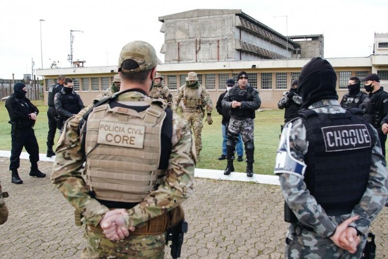 Os sete apenados foram transferidos para o sistema prisional federal